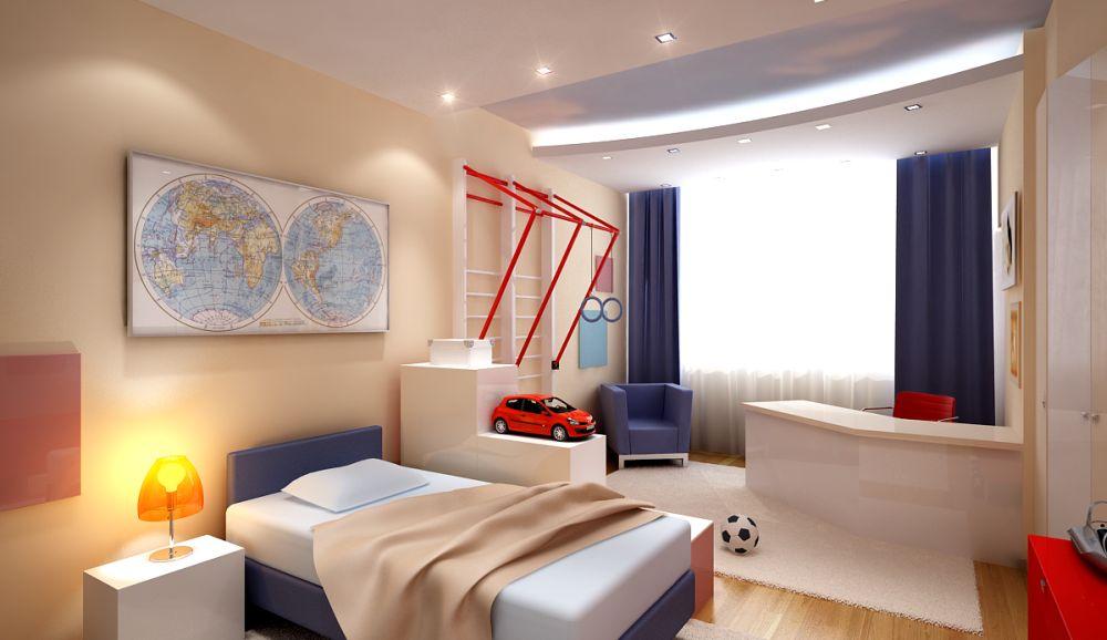 Проекты интерьера детской комнаты в